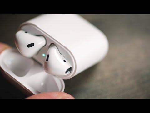Thumbnail: Apple AirPods wireless headphones review