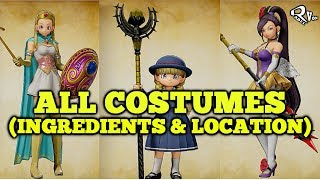 Dragon Quest XI - All Costumes and Armor Guide (100% Complete)