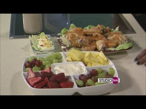 Studio 10:Diabetic friendly appetizers or party food, from DaVita Dialysis