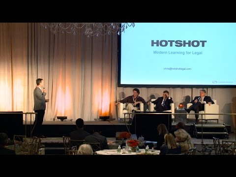 Law Firm Leaders Shark Tank: Chris Wedgeworth of Hotshot discusses innovative legal training