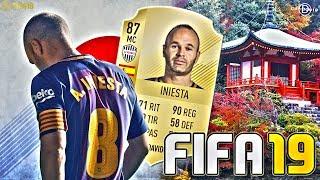 🔥 ANDRÉS INIESTA SEGUIRÁ EN FIFA 19 !!!! 😊😊| FICHA POR EL VISSEL KOBE !!!