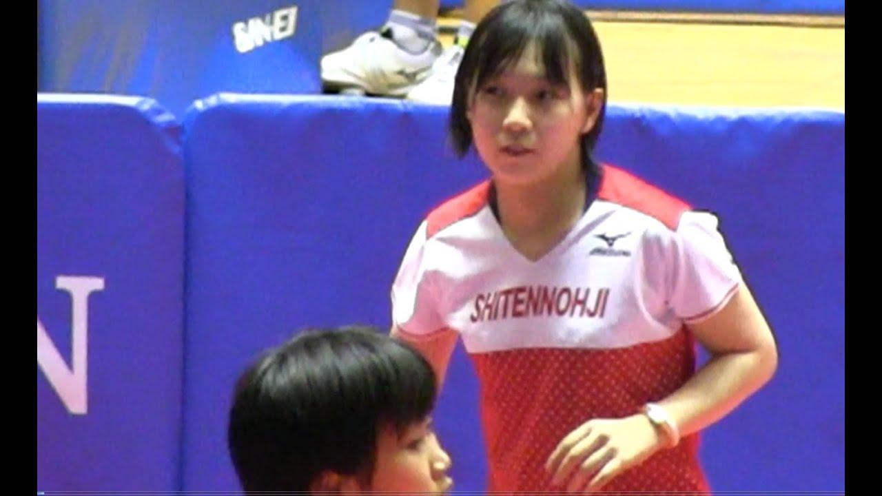 Table Tennis 松平志穂 × 佐藤瞳 ...