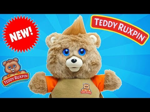 Brand New! Teddy Ruxpin 2017 Edition with LCD Eyes Tells Silly Stories