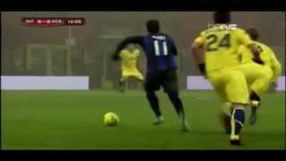 """Ricardo """"Ricky"""" Alvarez vs Hellas Verona (18.12.2012)"""