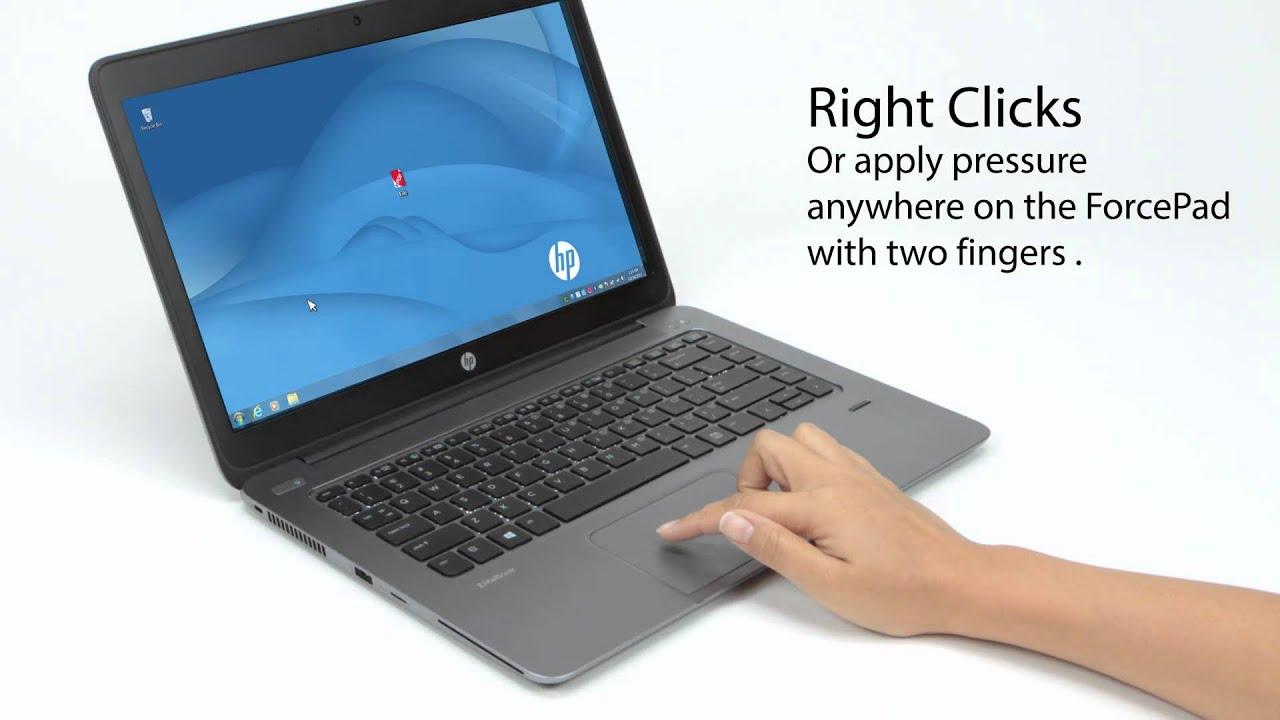 HP EliteBook Folio 9470m Synaptics TouchPad Driver for Mac