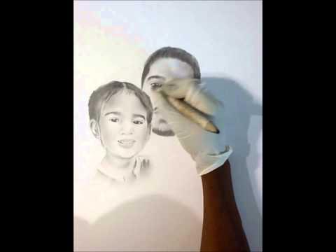 Speed Drawing - Jhene Aiko - Promises (Ft. Miyagi & Namiko)