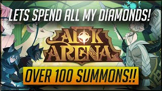 [AFK] Let's Spend All My Diamonds! Over 100 Summons!! [AFK Arena w/ MasKScarin]