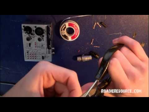 xlr connector wiring diagram 5 1 how to solder a female neutrik youtube