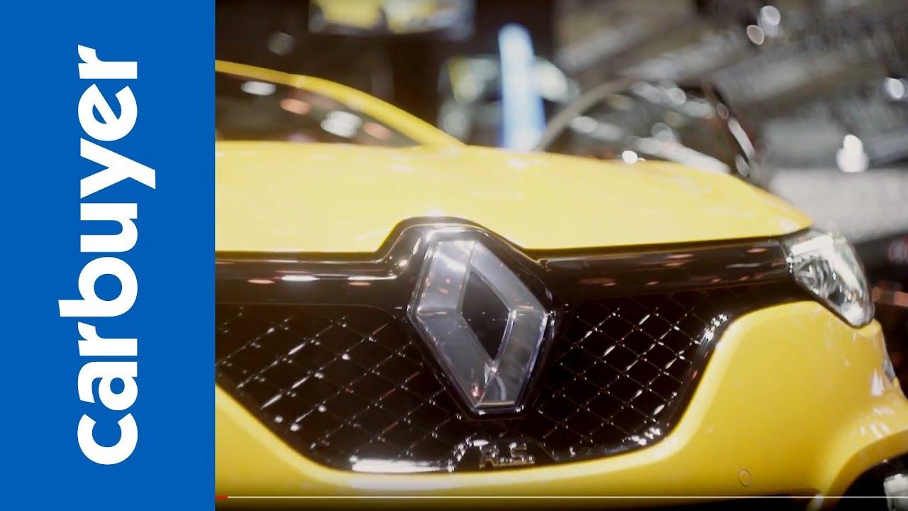Extreme new Renault Megane RS revealed - Frankfurt Motor Show - Carbuyer - Dauer: 95 Sekunden
