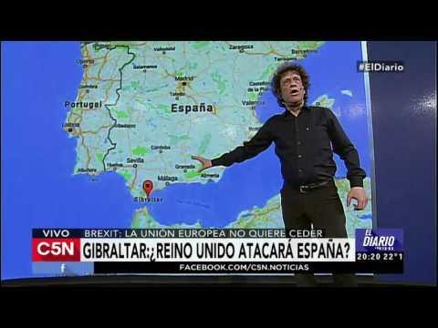 C5N - El Diario: Gibraltar: ¿Reino Unido atacará España?