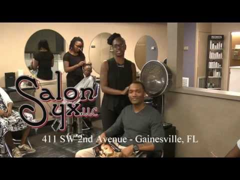 Salon syx downtown gainesville fl youtube for Accent styling salon gainesville