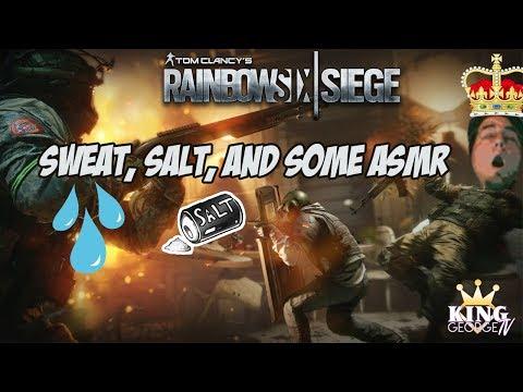 Sweat, Salt, and some ASMR KingGeorge