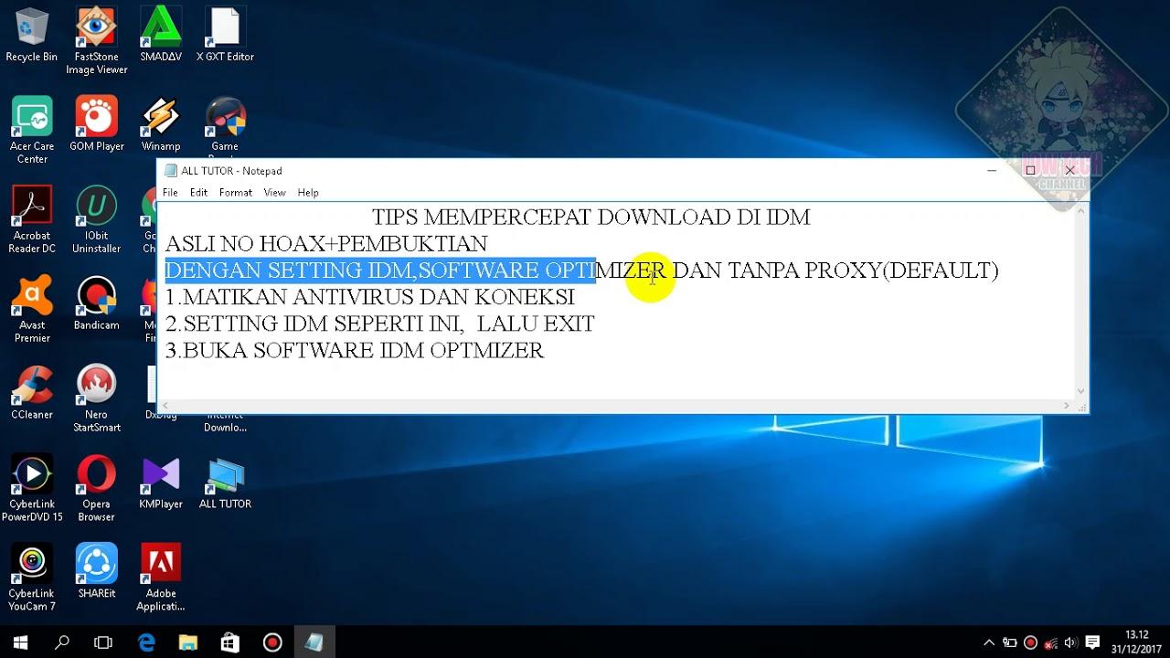 download idm optimizer terbaru 2017