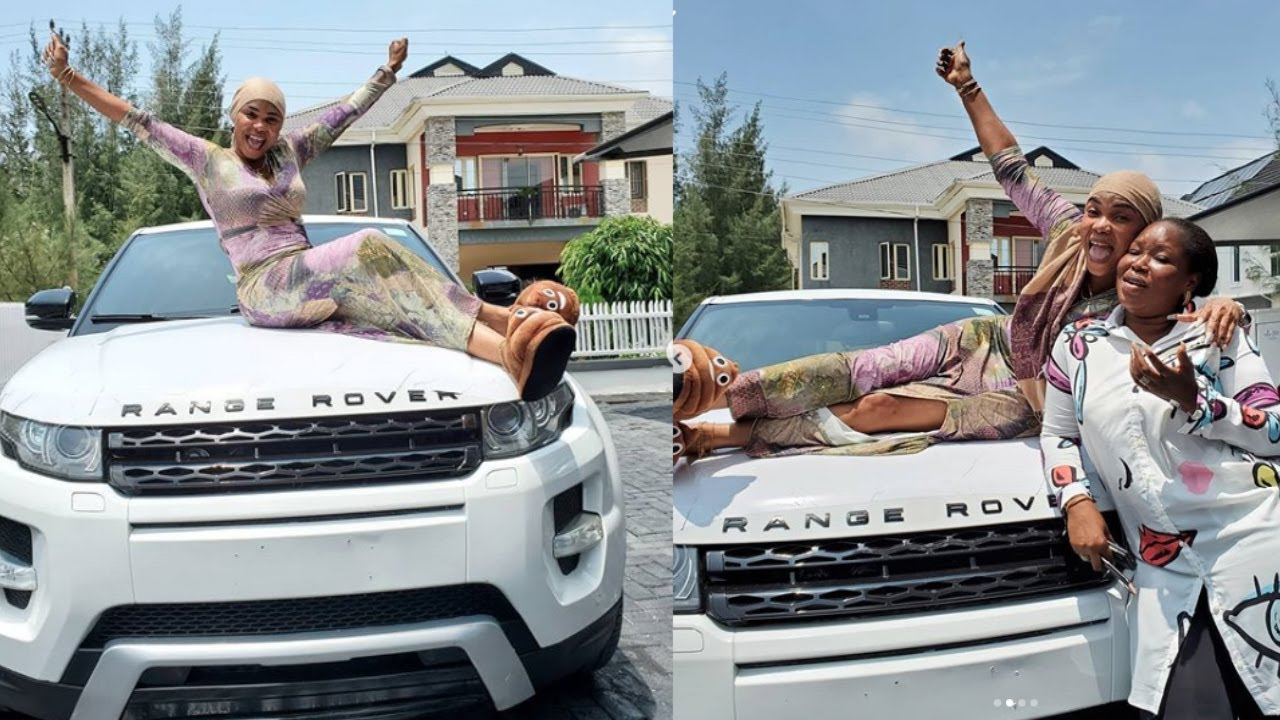 Download IYABO OJO GETS SURPRISE BRAND NEW RANGE ROVER EVOQUE FROM  god-DAUGHTER DAYS AFTER HER HOUSE WARMING