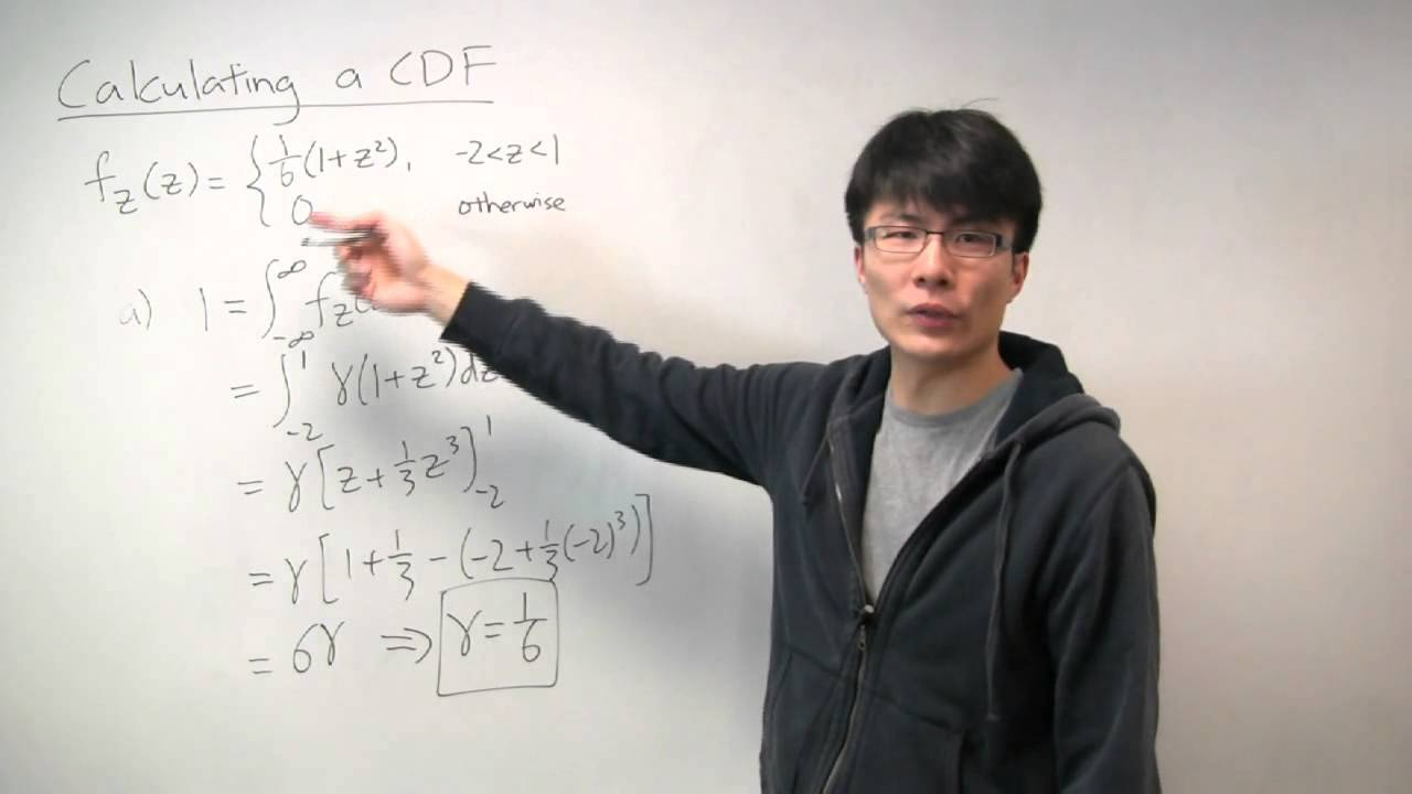 Download Calculating a Cumulative Distribution Function (CDF)