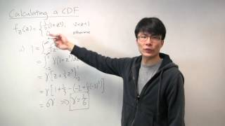 Calculating a Cumulative Distribution Function (CDF)