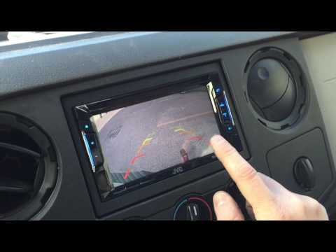 JVC KW-V230BT and Thinkware F770 Dash Camera in a 2010 Ford F250
