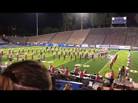 Buchanan High School Marching Band 2017  Waterways