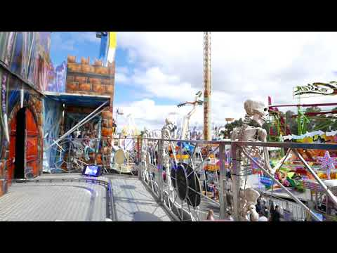Carnevil Ghost Train Royal Melbourne Show 2017