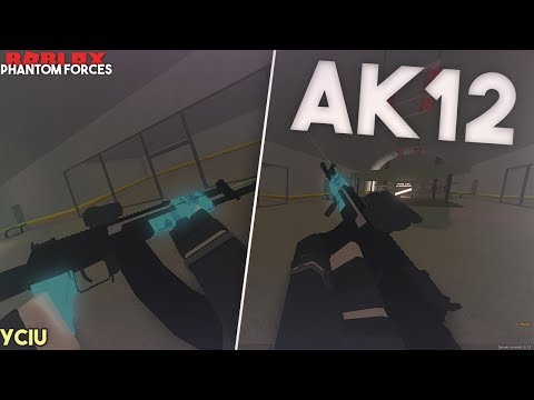 Phantom Forces - You Choose I Use AK12C IS GOD LIKE   Crazy 80+ Kill Games