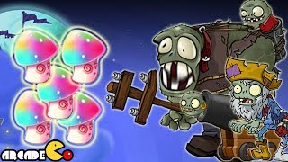 Plants Vs Zombies 2 Dark Ages: HYPNO-SHROOM In The senior Piñata Party