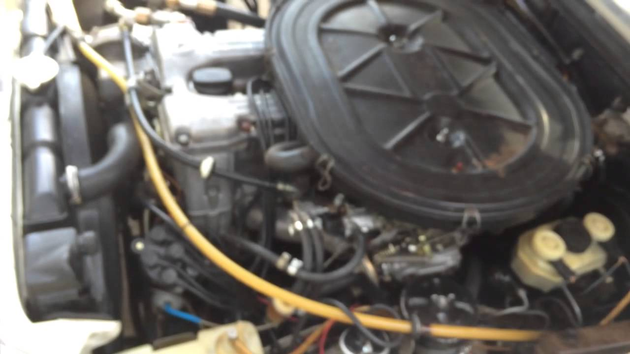 medium resolution of how a vacuum idle adjuster should work on a mercedes 280 m110 engine