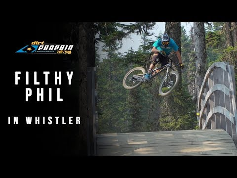 Ride it like you stole it - Phil Atwill in Whistler