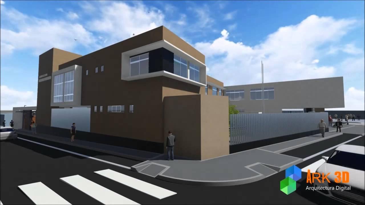 Animaci n 3d centro de salud metropolitano youtube - Centro de salud aravaca ...