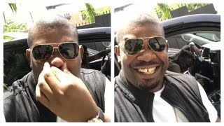 Don Jazzy Jamming to Tiwa Savage's new smash hit hit All Over. Get ...