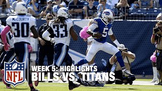 Bills vs. Titans | Week 5 Highlights | NFL