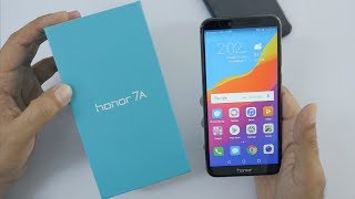 Honor 7A Unboxing & Overview & Camera Comparison with Redmi 5