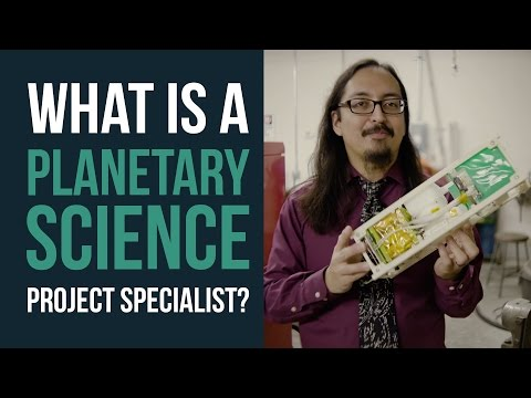 Working in Planetary Science: Building Satellites & Supporting Research