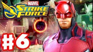 Marvel Strike Force - Gameplay Walkthrough Part 6 - Daredevil! (Linking Facebook)