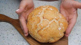 Почему я не покупаю хлеб в магазине Самый простой рецепт хлеба в кастрюле