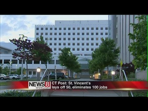 Layoffs At St. Vincent's Hospital In Bridgeport