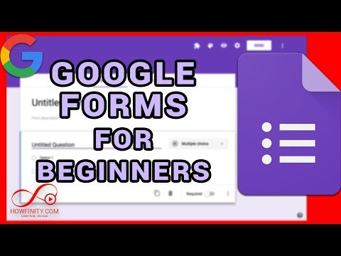 How to use Google forms for beginners-Google forms tutorial
