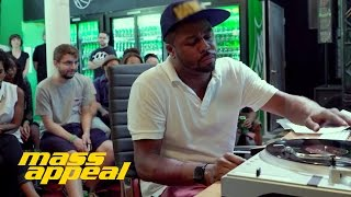 "Just Blaze - ""Rhythm Roulette"" Live From The Sprite Corner"