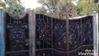 видео кованые ворота тюмень