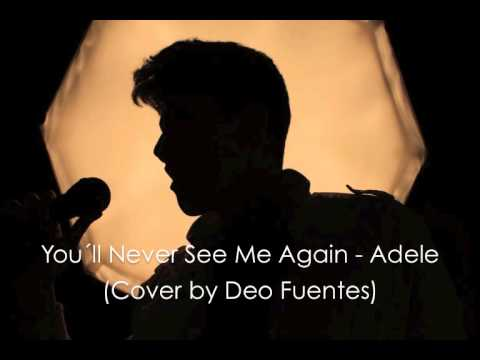 You´ll Never See Me Again - Adele (Acoustic Cover by Deo Fuentes)