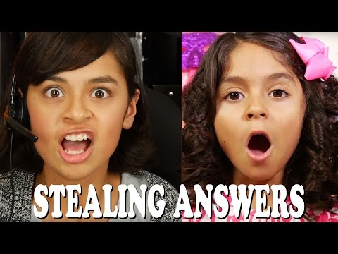 Stealing Answers : SKETCH COMEDY // GEM Sisters