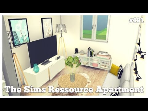 Les Sims 4   DECO & CO #191   THE SIMS RESOURCE APARTMENT