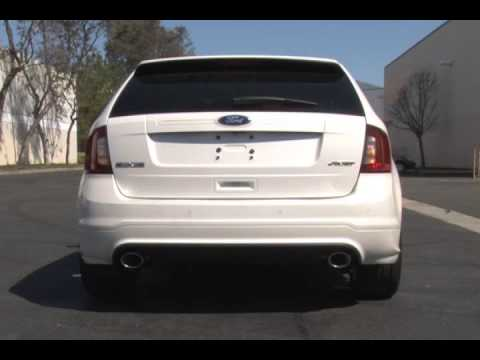 Magnaflow Cat Back >> 2011-2014 Ford Edge Sport and Lincoln MKX Exhaust Stainless Steel Magnaflow 15482 - YouTube