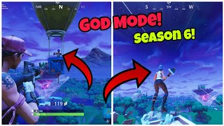 'New' Fortnite Saison 6 God Mode Glitch (Never die) Fortnite Glitches Saison 6 PS4/Xbox one 2018
