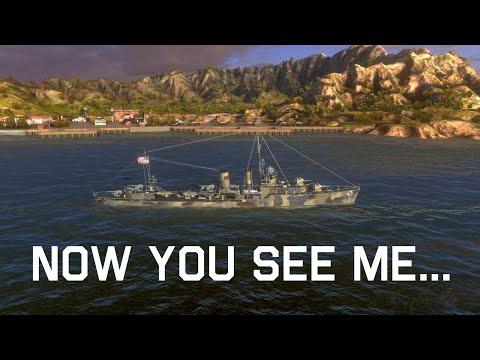 World Of Warships Blitz - USS Farragut