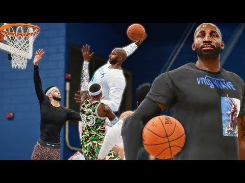 NASTY POSTER DUNKS & DANCING AFTER LAST SHOT! NBA Live 18 Live Run Gameplay Ep. 7
