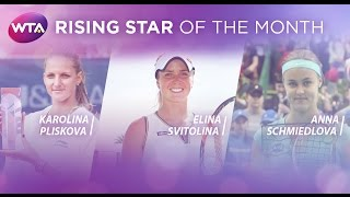 2015 WTA Rising Star of the Month Finalists | April