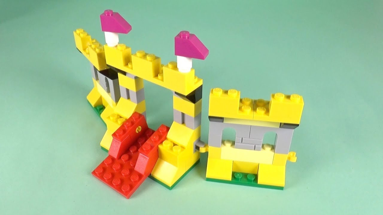 Lego Castle Building Instructions Lego Classic 10717 How To