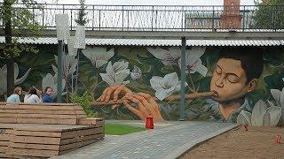 UTV. Свободное искусство объединяет. В Башкирии стартует международный стрит-арт фестиваль