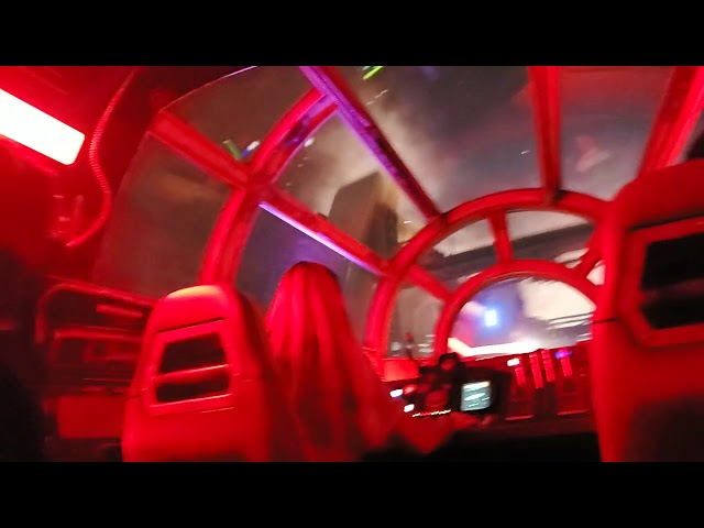 Millennium Falcon Smughlers Run star wars land