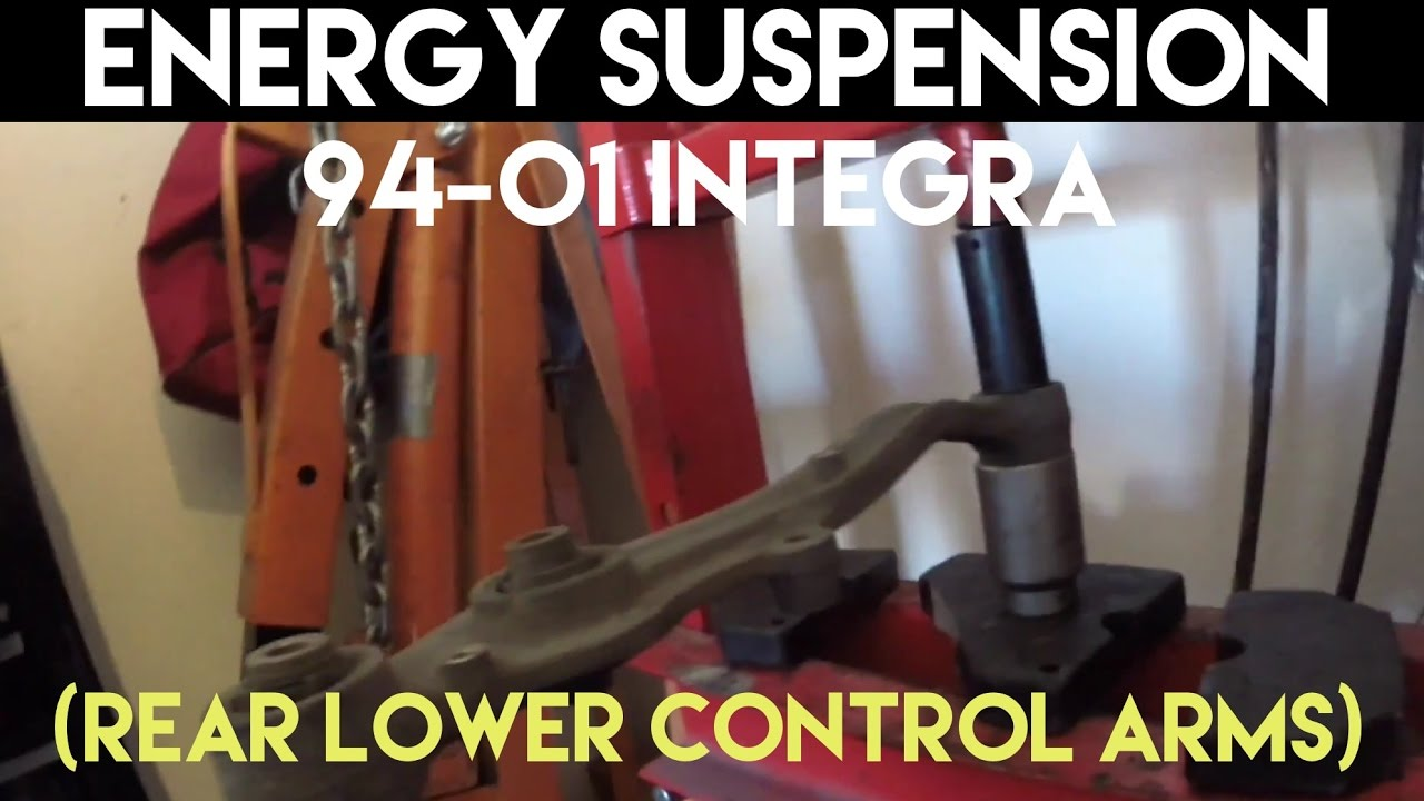 Suspension Control Arm Bushing-Energy Suspension Rear Control Arm Bushing Rear